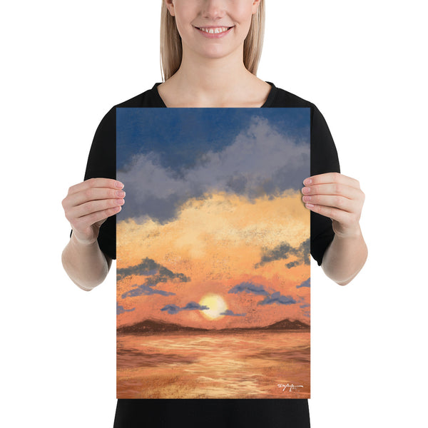 Calm Becoming Sunset Fine Art Print
