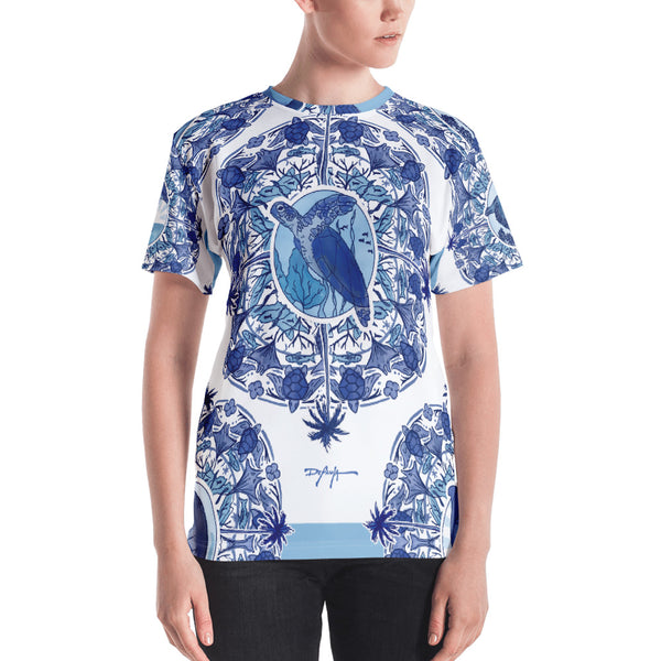 Delft Blue Women's T-shirt
