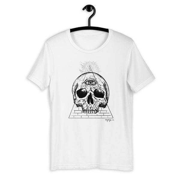 In God We Trust Dark Art Guild Short-Sleeve Unisex T-Shirt