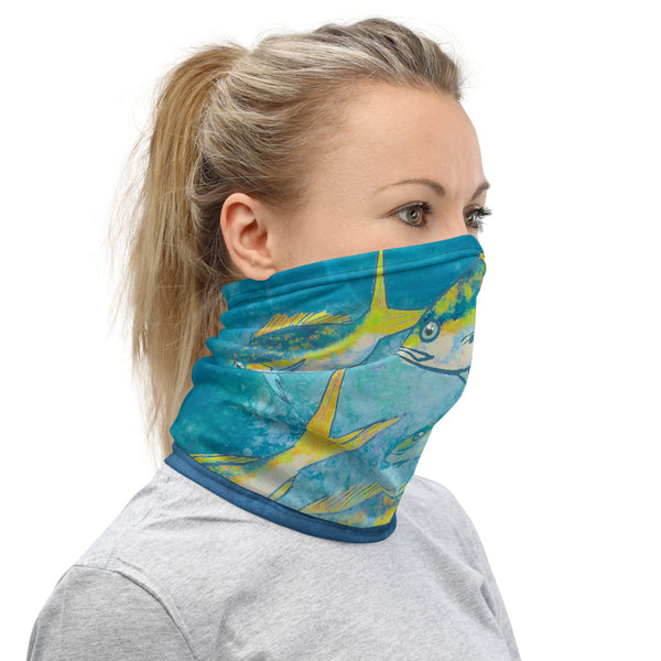 Yellowtail School Face Mask Neck Gaiter