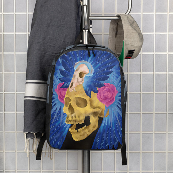 Lost Culture Skull Minimalist Backpack