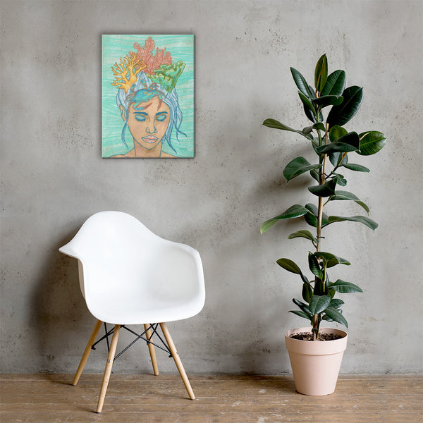 Wayfinder Opal Fine Art Canvas