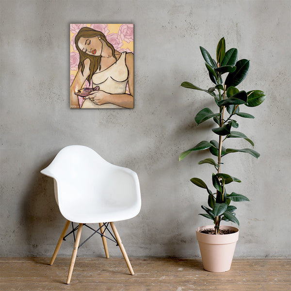 Hestia Greek Mythology Fine Art Canvas