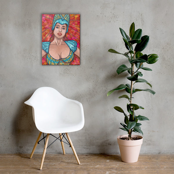 Carnival Queen Fine Art Canvas