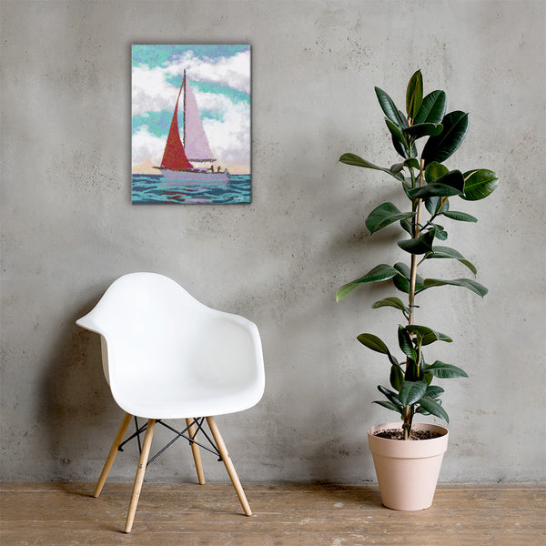 Sail Away Fine Art Landscape Canvas