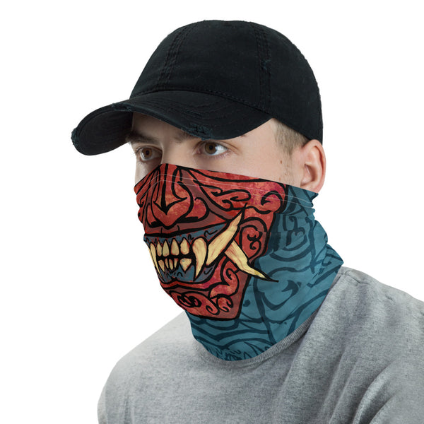 Samurai Oni Neck Gaiter Face Mask