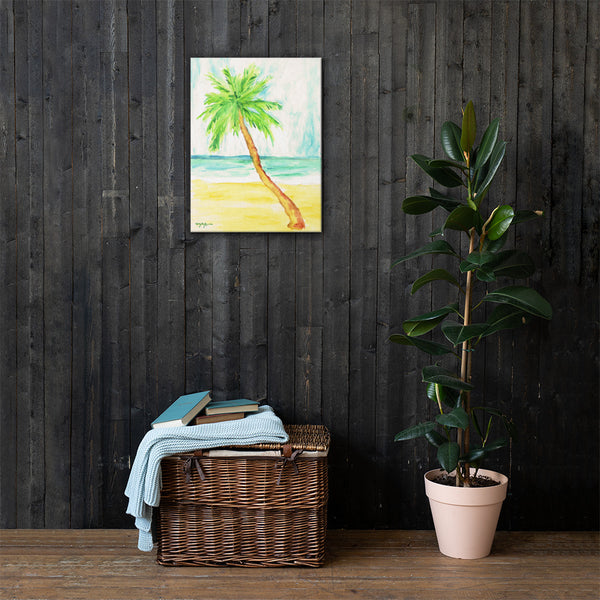 Lone Palm Canvas