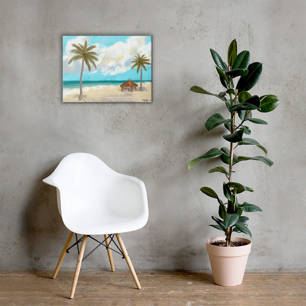 Twin Palms Fine Art Canvas