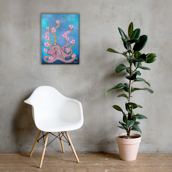 Octopus's Garden Canvas