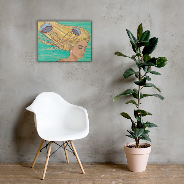 Wayfinder Topaz Fine Art Canvas