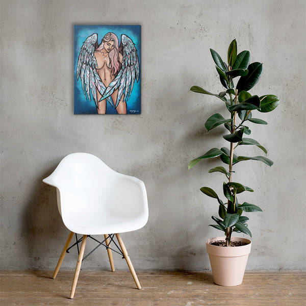 Aurora Angel Fine Art Canvas