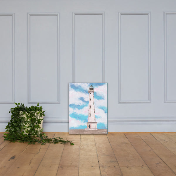 Aruba's California Lighthouse Fine Art Canvas