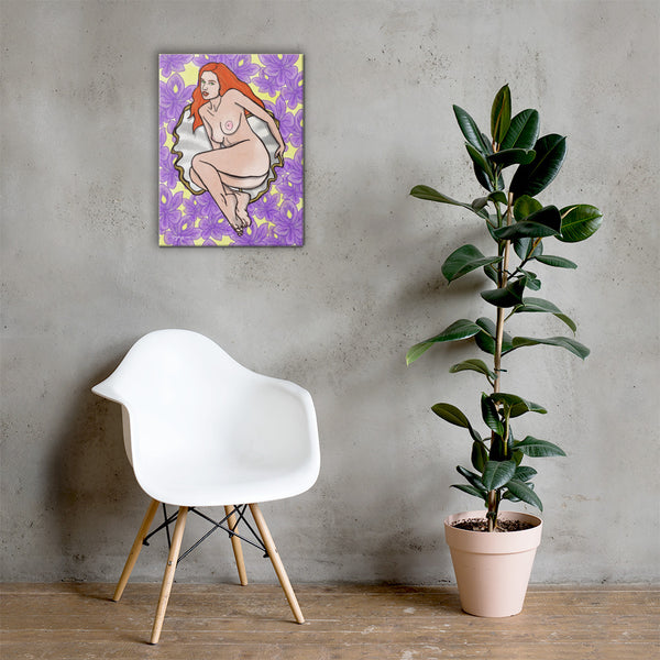 Aphrodite Greek Mythology Fine Art Canvas