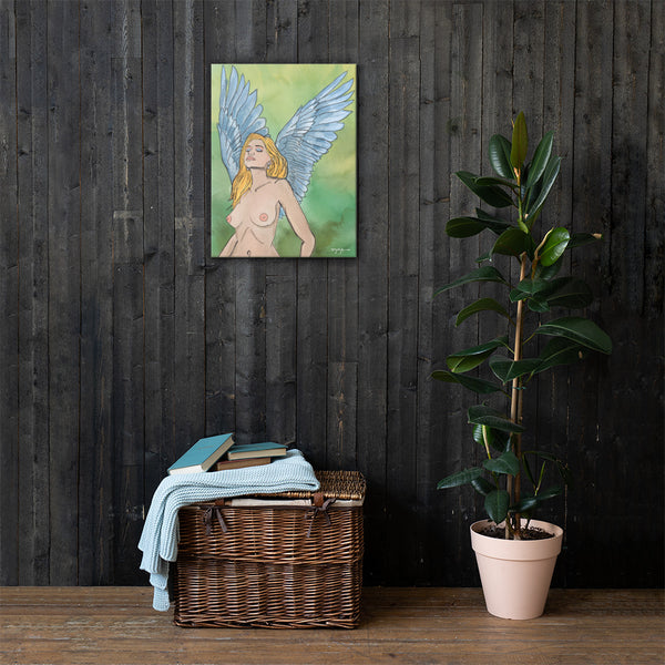 Portrait of an Angel Fine Art Canvas Print