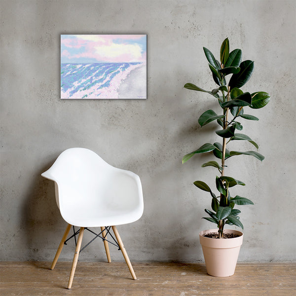 Serenity Beach Fine Art  Landscape Canvas