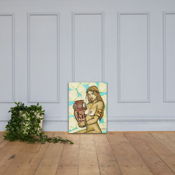 Pandora Greek Mythology Fine Art Canvas
