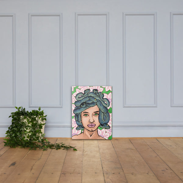 Medusa Greek Mythology Fine Art Canvas