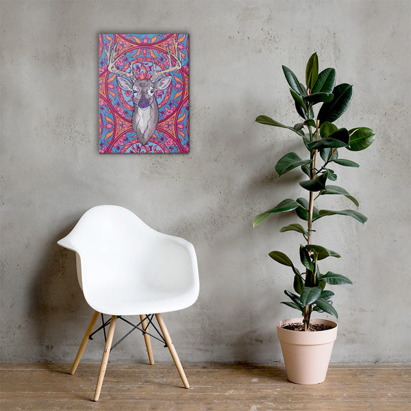 Wild Deer Canvas
