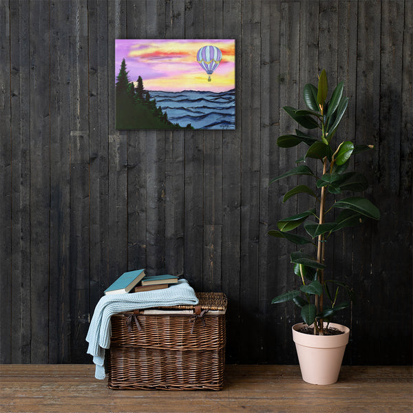 Blue Ridge Drift Canvas