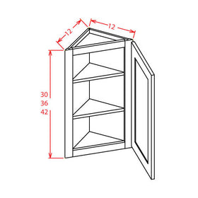 Angle Walls - Cabinets on Demand