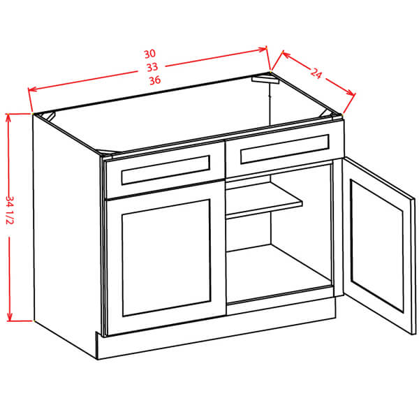Sink Bases - Cabinets on Demand