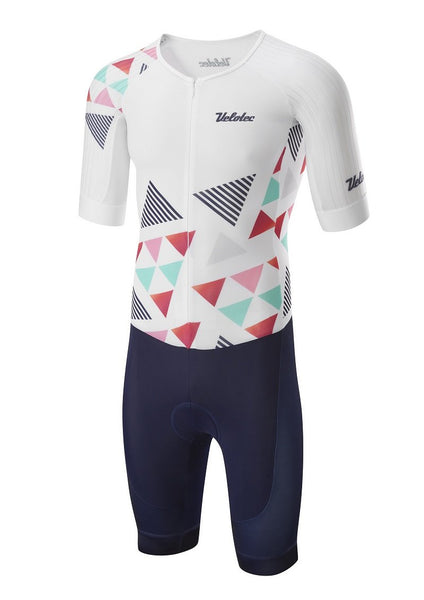 Elite AERO Short Sleeve Tri-suit + pockets