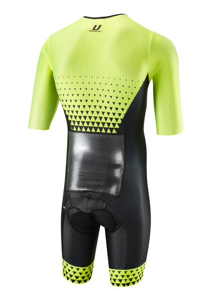 Fluo PRO Aero Speedsuit / Short sleeve + Aero number pocket (UCI Legal)