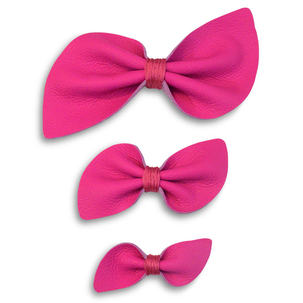 large jojo siwa style leather bows