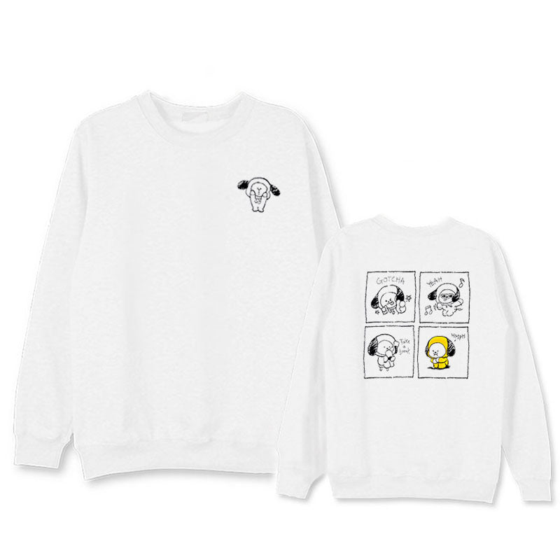 BT21 Sketch Sweater
