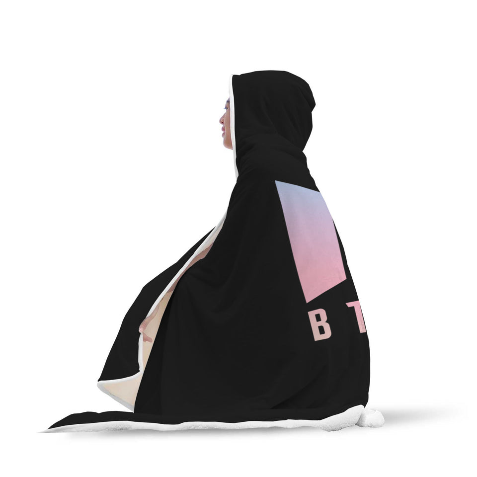 BTS Classic Hooded Blanket