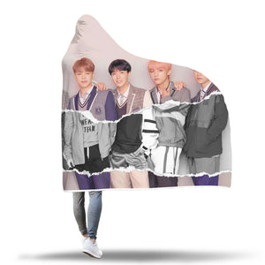 BTS LY Answer L Version Hooded Blanket