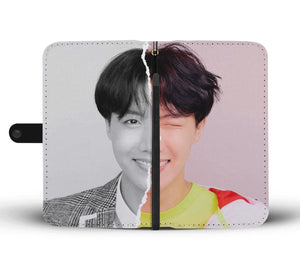 BTS LY Answer J-hope L Version Wallet Phone Case