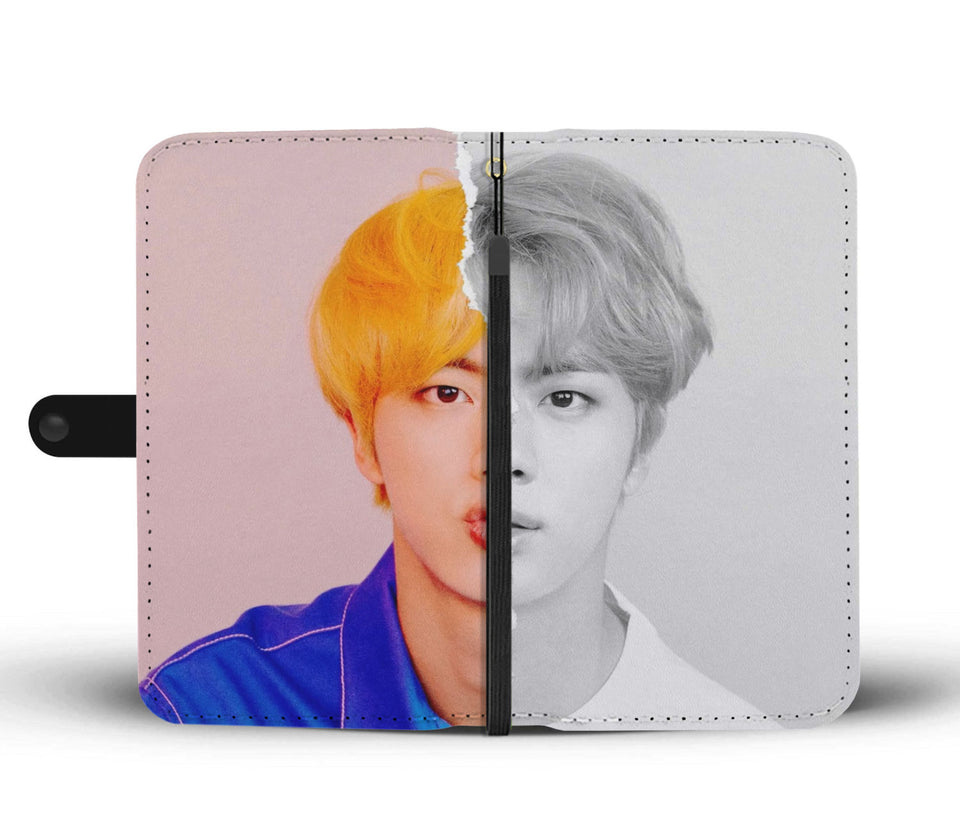 BTS LY Answer Jin L Version Wallet Phone Case
