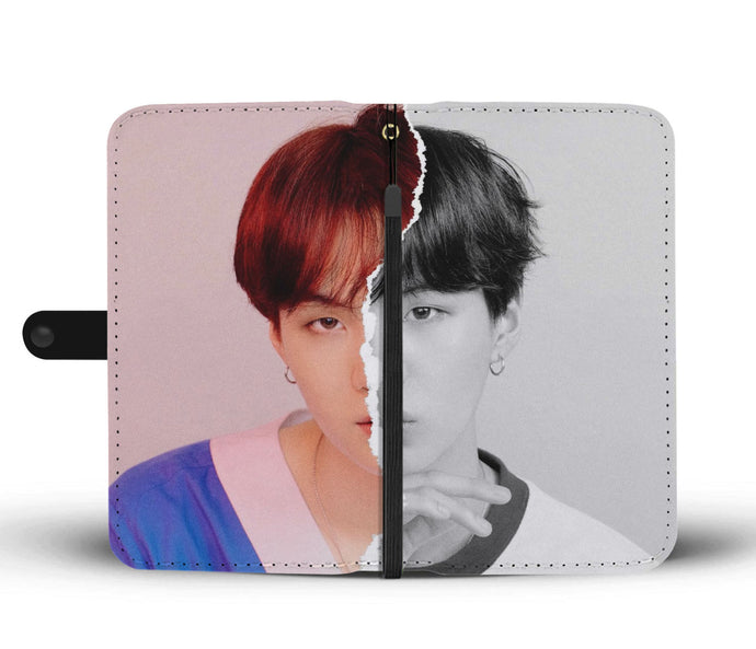 BTS LY Answer Suga L Version Wallet Phone Case