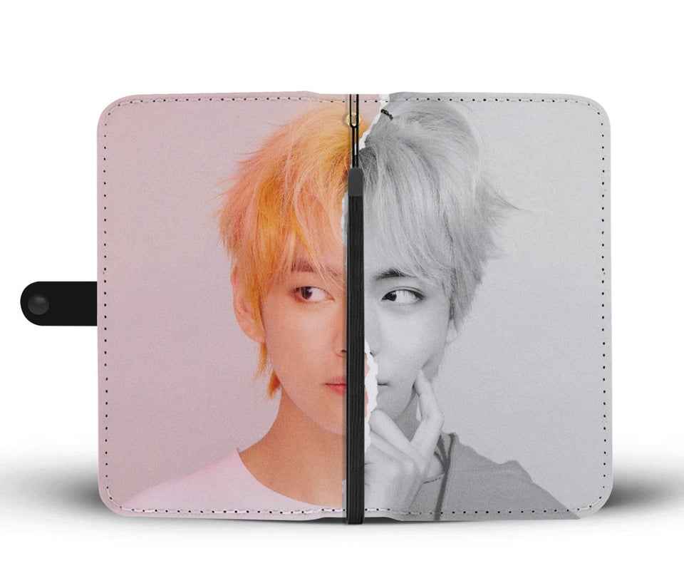BTS LY Answer V L Version Wallet Phone Case