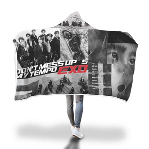 EXO Tempo Hooded Blanket