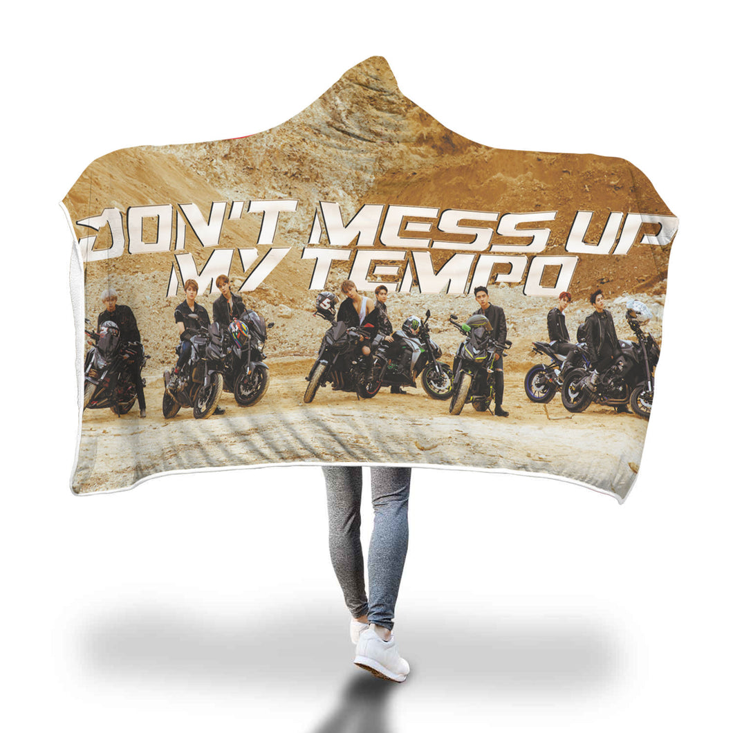 EXO Tempo Desert Hooded Blanket