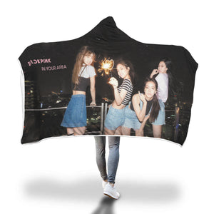 Blackpink Debut Hooded Blanket