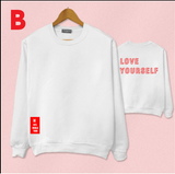 Love Yourself Sweater