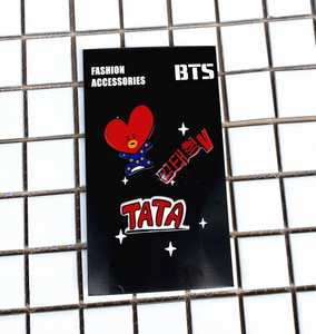 BT21 Acrylic Brooch Set