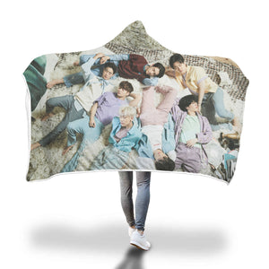 GOT7 Lullaby Hooded Blanket