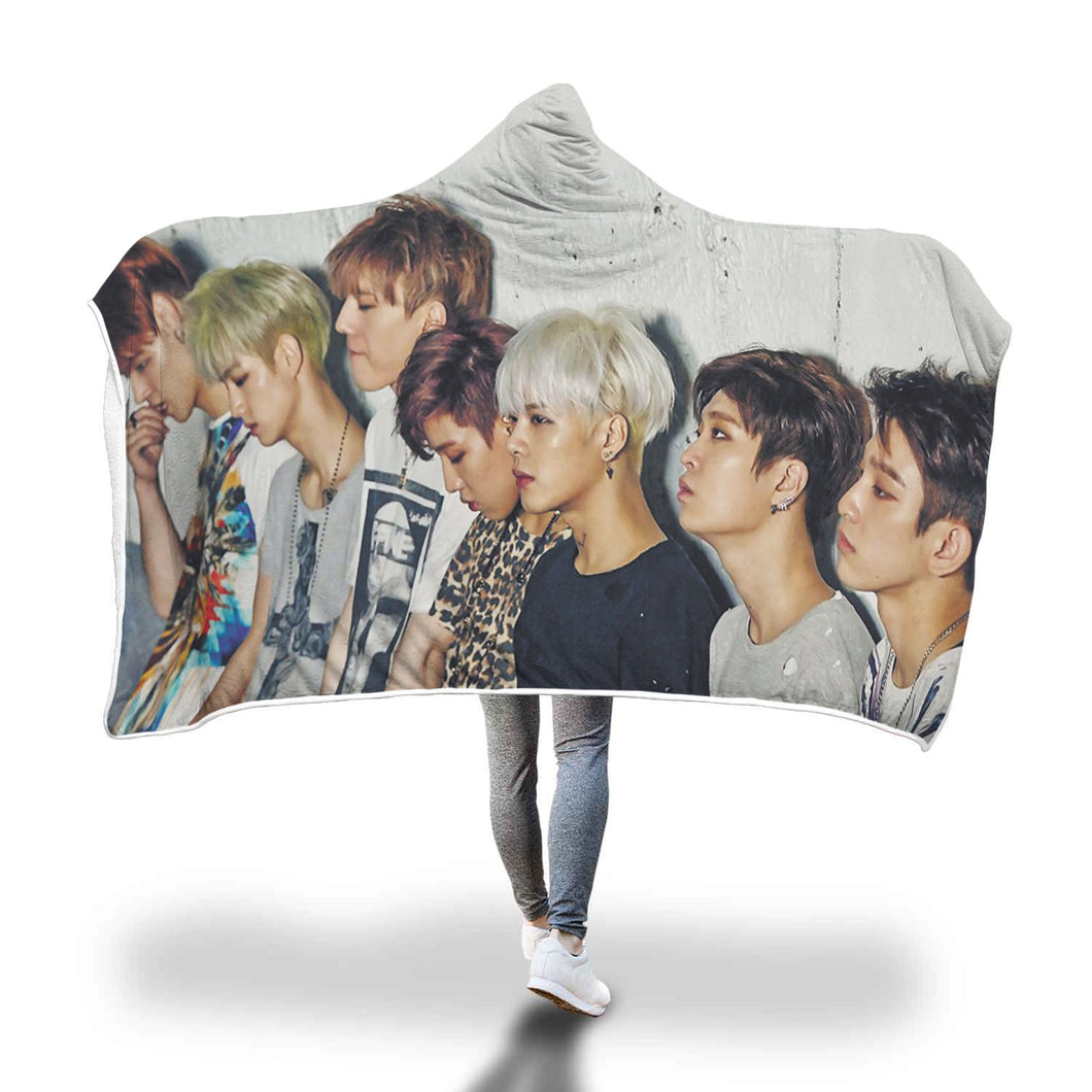 GOT7 MAD Hooded Blanket