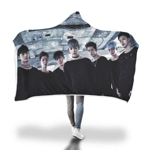 Monsta X Hooded Blanket
