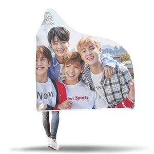 Astro Hooded Blanket