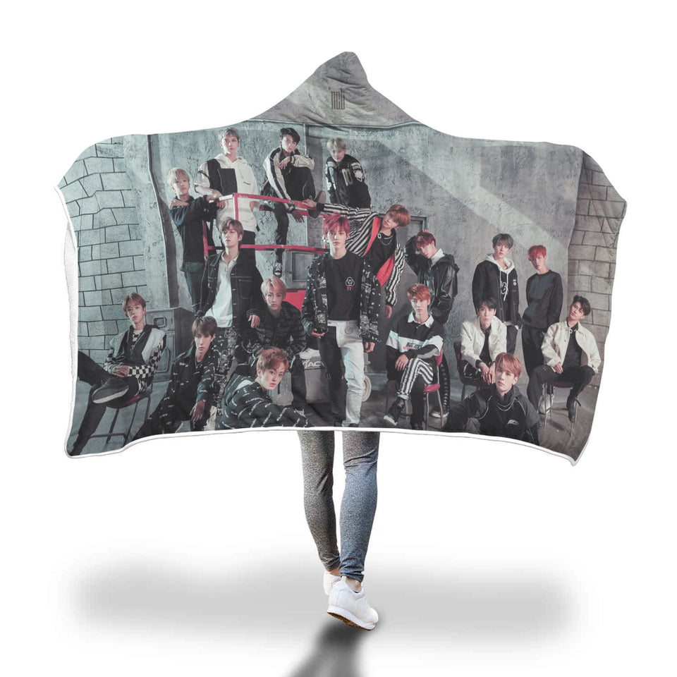 NCT 2018 Hooded Blanket