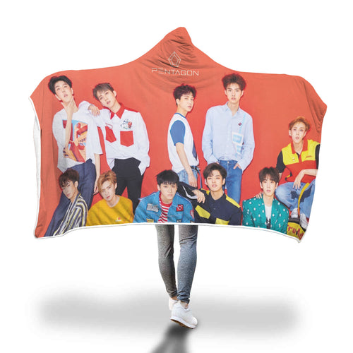 Pentagon Shine Japan Hooded Blanket
