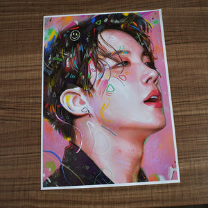 BTS Painting Poster (5 Pieces)