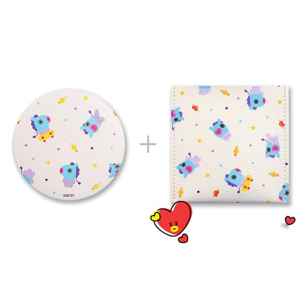 BT21 Mirror with Storage Bag