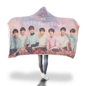BTS Love Yourself Tour Blanket