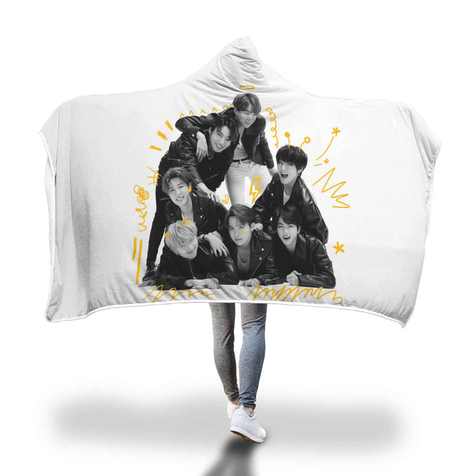 BTS 2020 Hooded Blanket